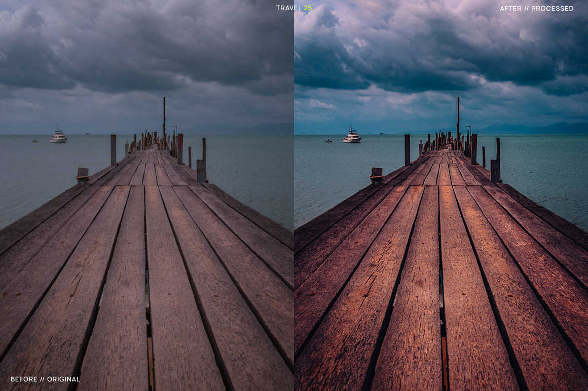 25 Travel Presets for Lightroom example image 27