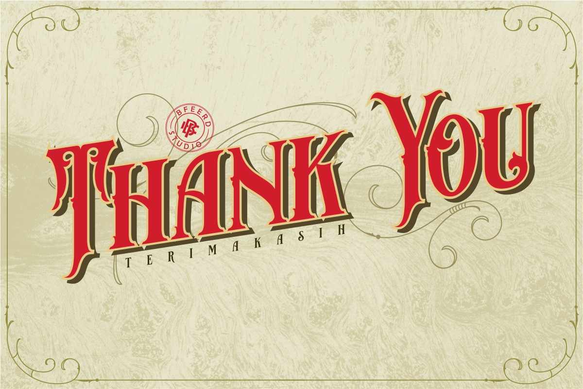 Bloves Vintage Typeface example image 11