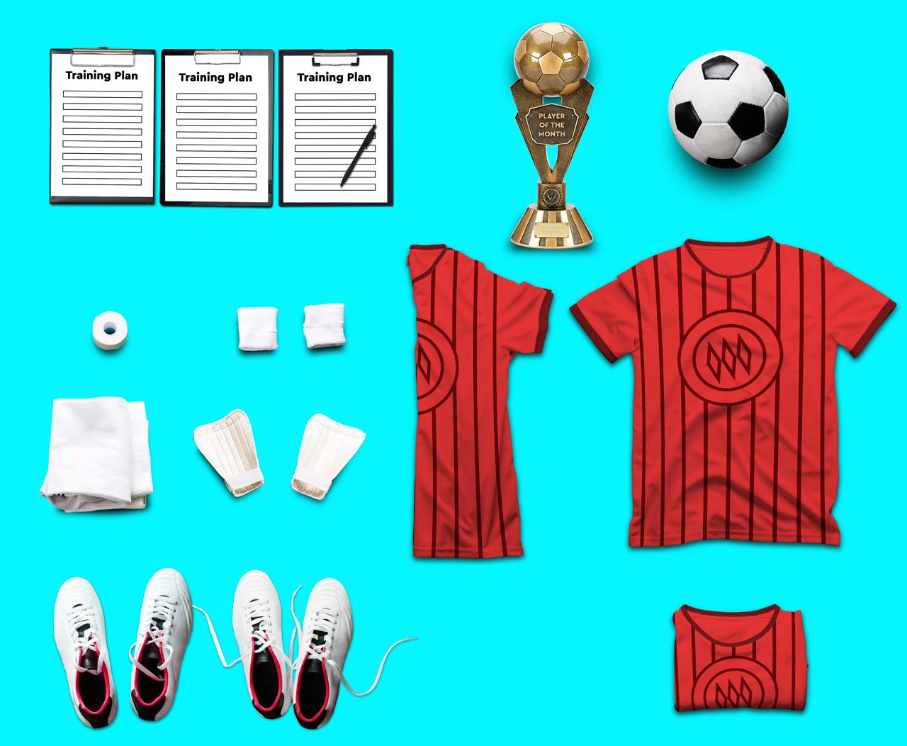 Soccer Scene /Mock-up Creator example image 5