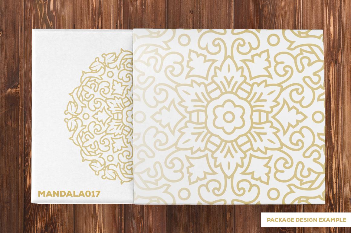 500 Vector Mandala Ornaments example image 37