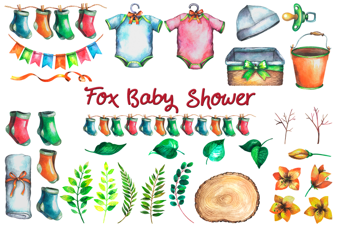 Fox Baby Shower example image 3