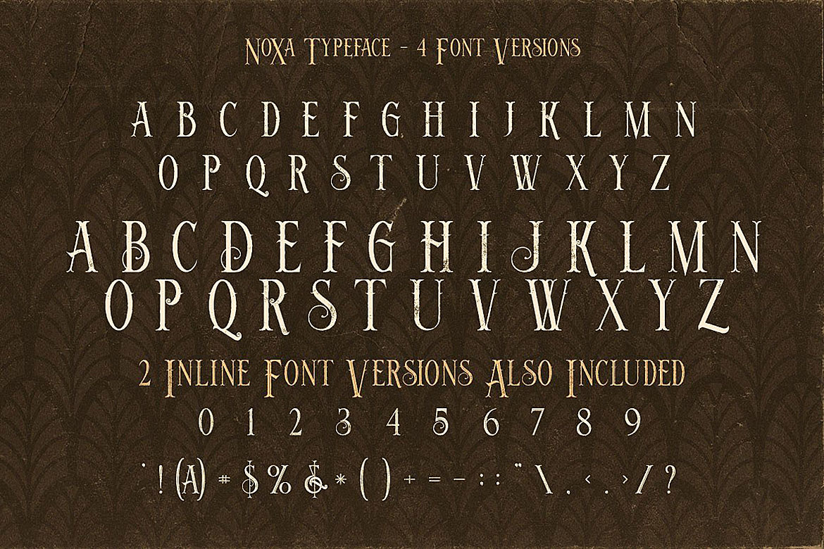 Noxa - Display Font example image 5