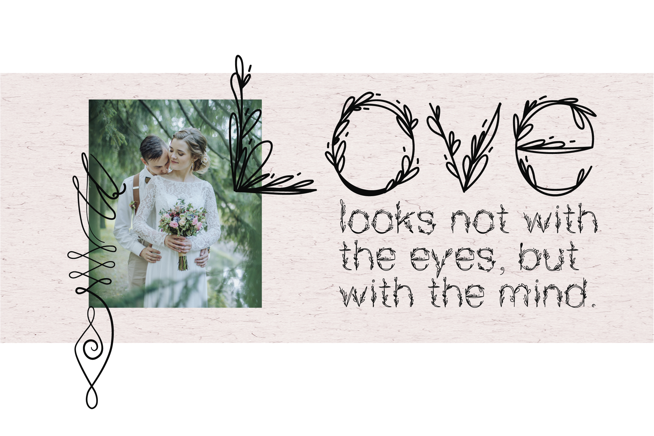 Garden|floral romantic font example image 2