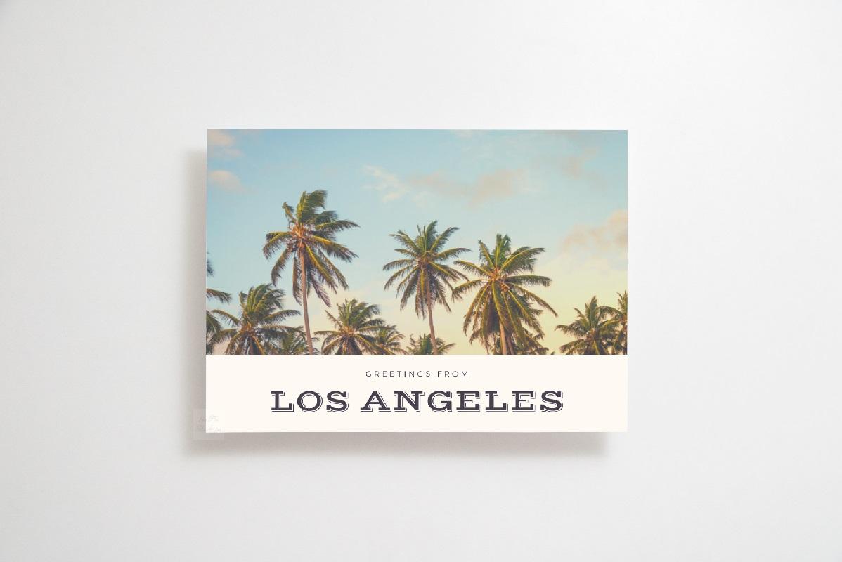 5x7 print mockup photo Card Mock up horizontal psd flat lay example image 5