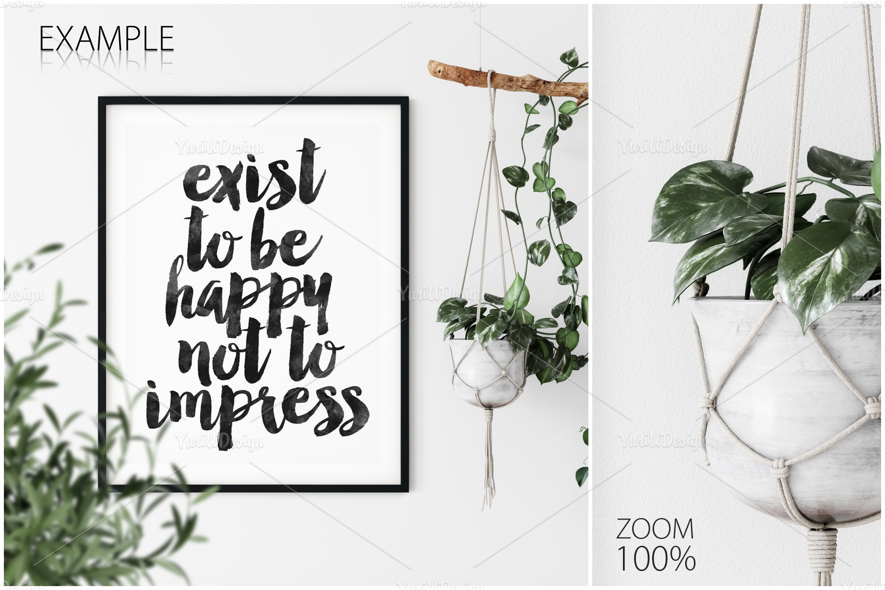 Frames & Walls Coastal Mockups Bundle example image 13