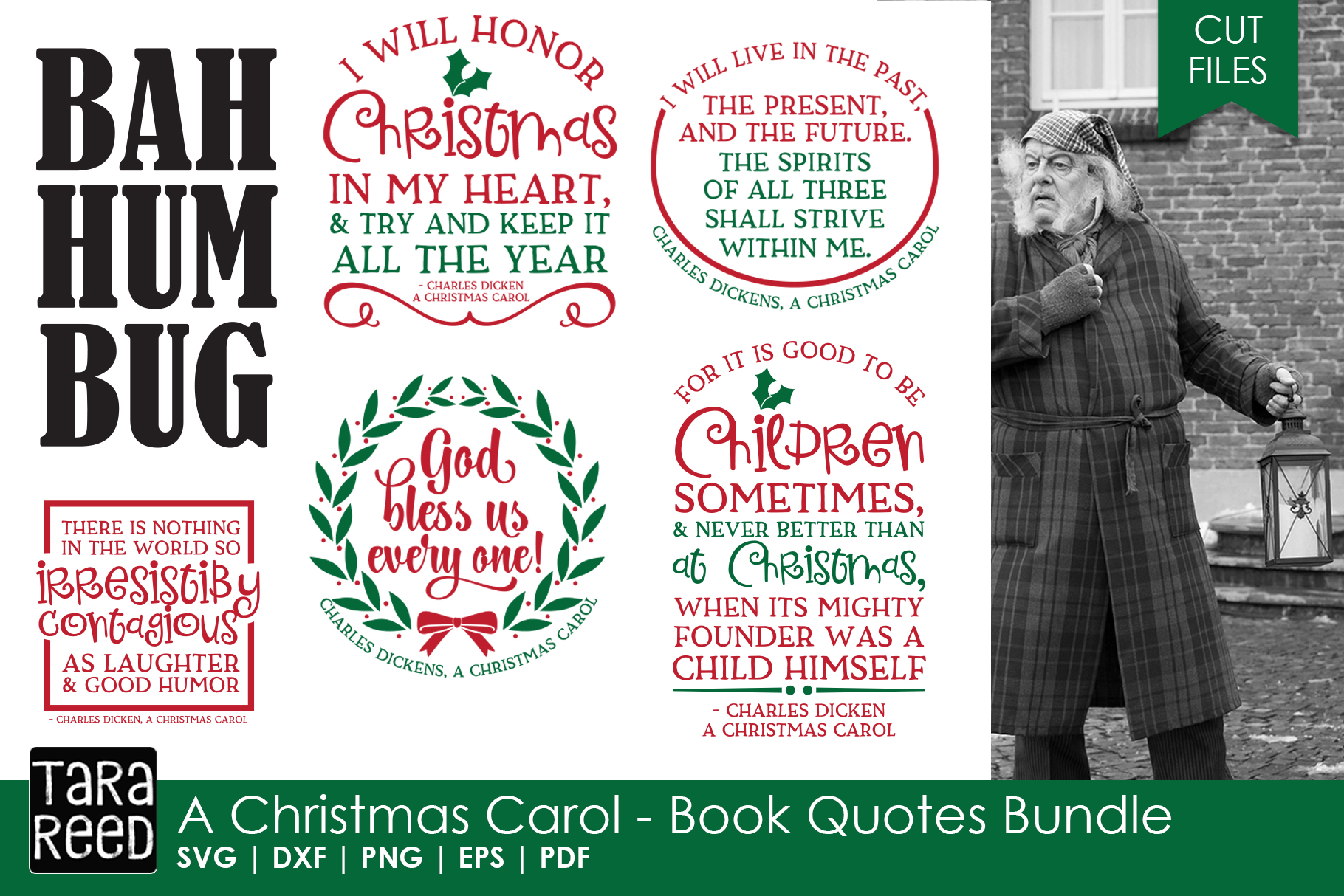 A Christmas Carol Book Quotes Bundle