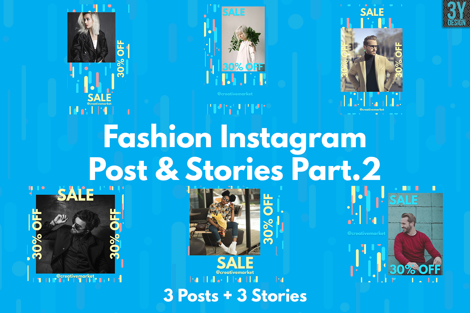 Fashion Instagram Posts & Stories example image 1