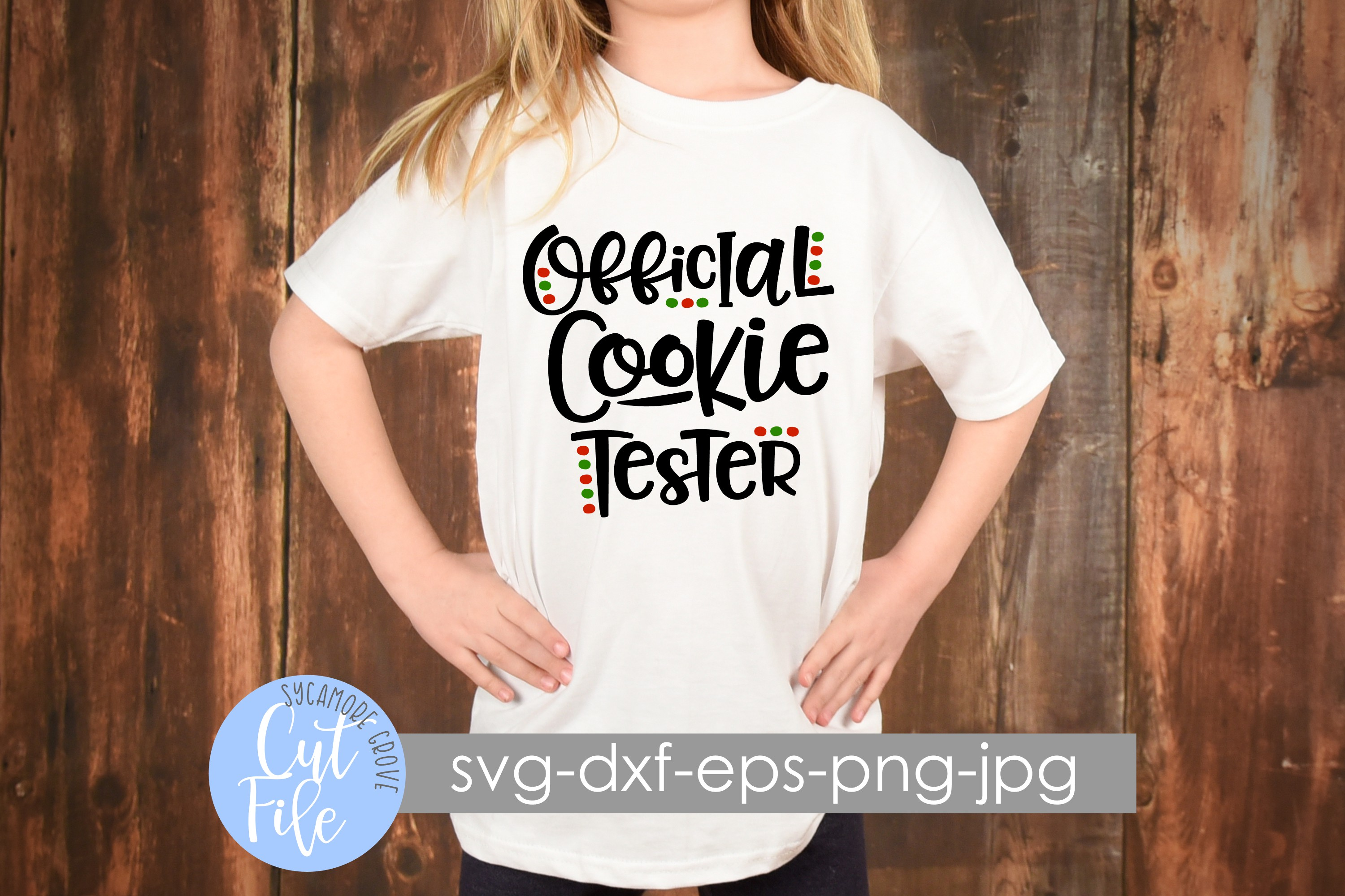 Official Cookie Tester SVG example image 2