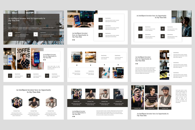 Bitro - Criptocurrency Google Slides Template example image 3
