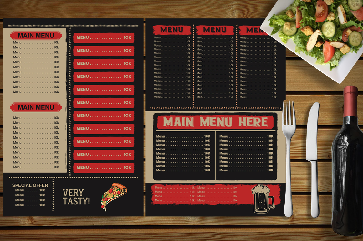 Restaurant Menu example image 5
