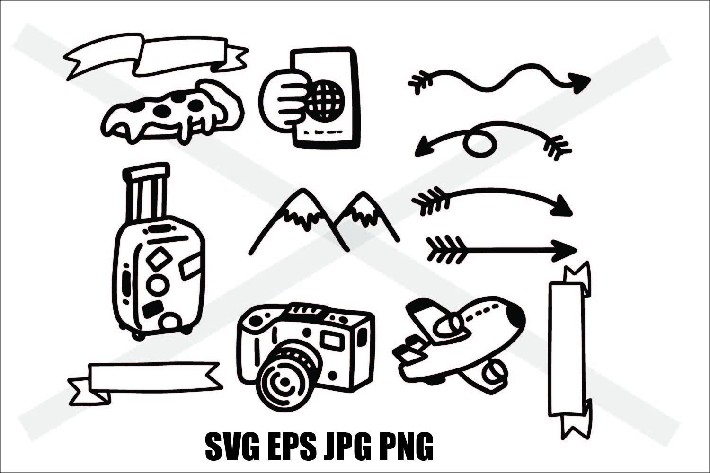 Adventure Set 2 - SVG EPS JPG PNG example image 1
