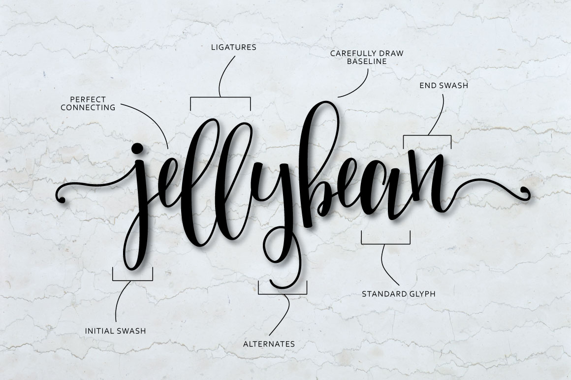 Mellany Typeface example image 2