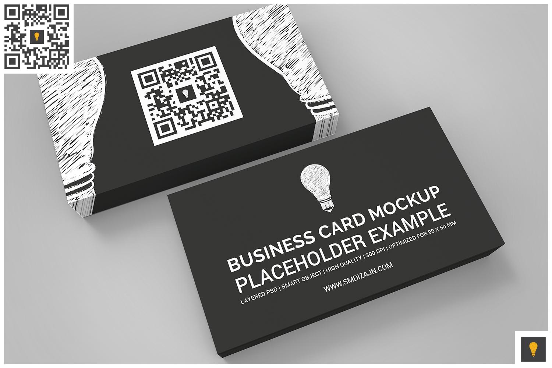 Business Card Mockup Set example image 5