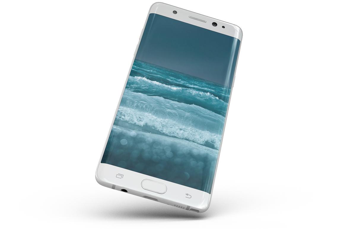 Samsung Galaxy Note 7 Gravity Mockup example image 13