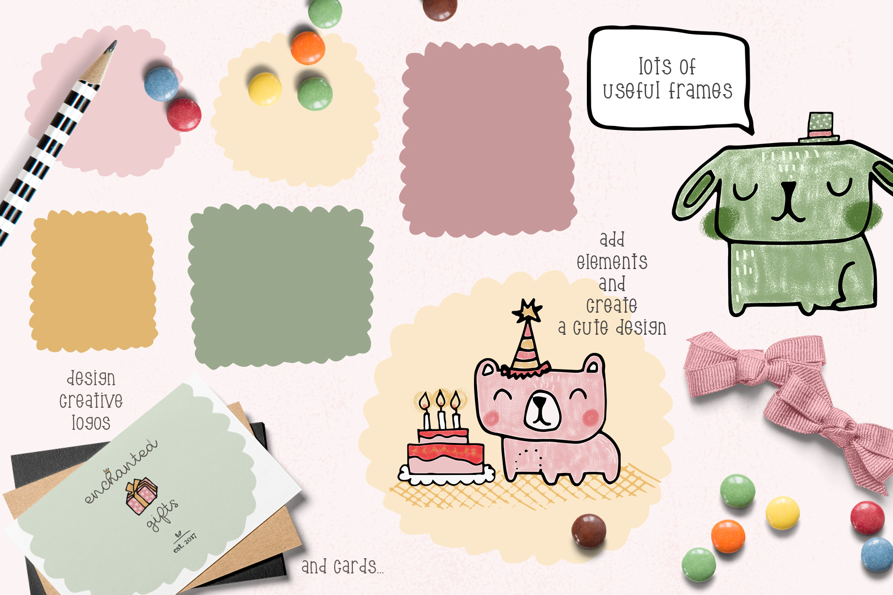 Birthday clipart collection example image 4