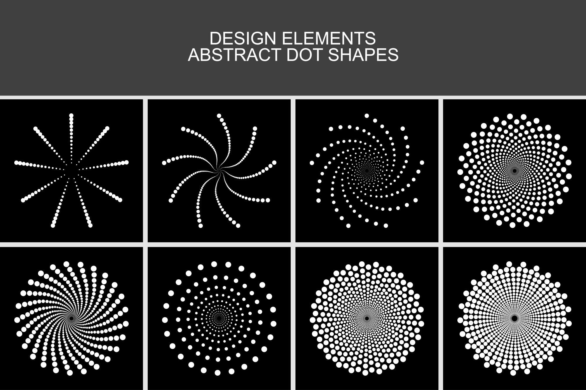 Collection of design elements. example image 1