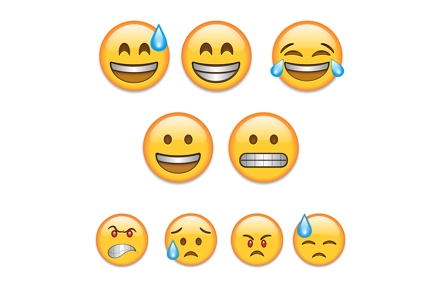 Colored Emoji  example image 1