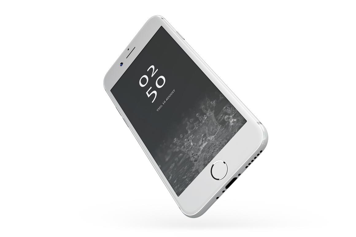 iPhone 7 Jet Black Edition Mockup example image 8