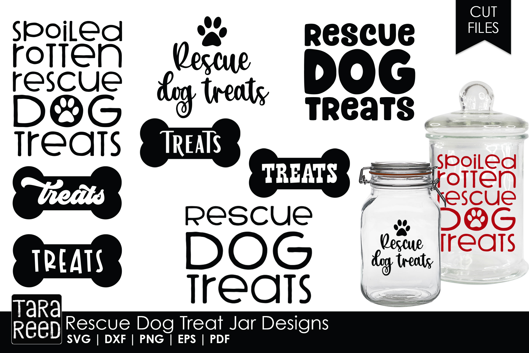 Rescue Dog MEGA Bundle - Rescue Dog SVG Files for Crafters example image 4
