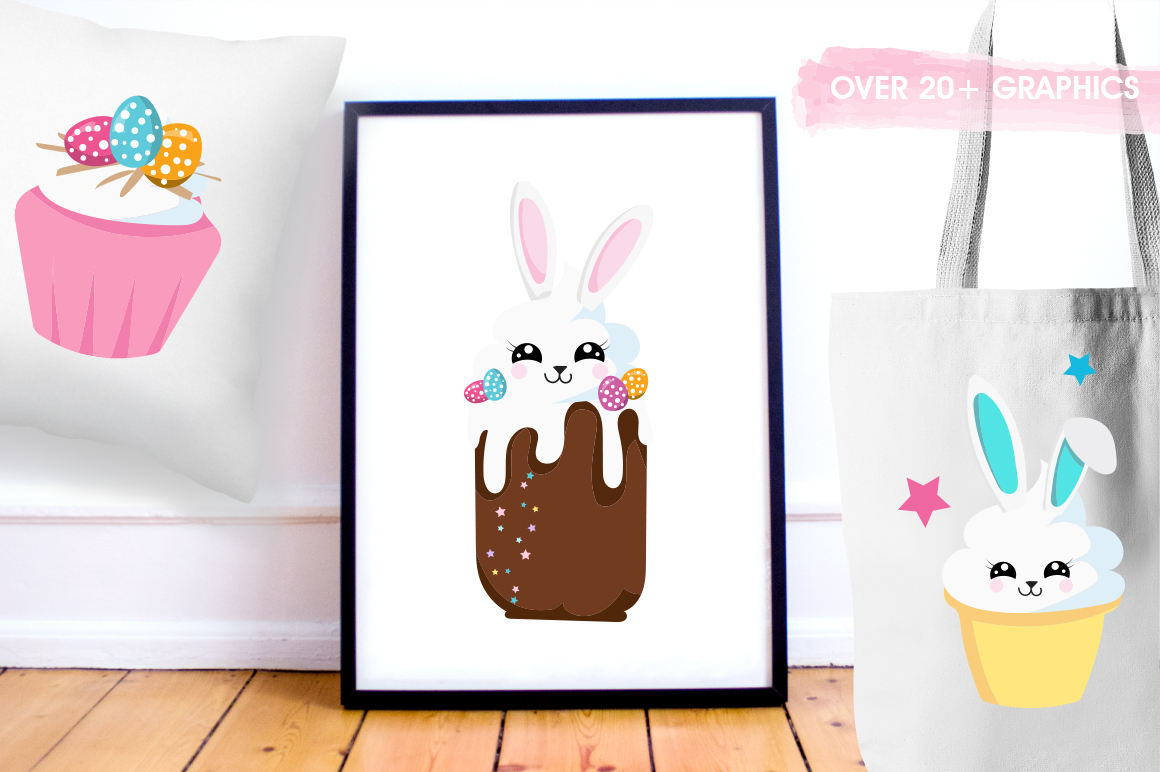 Easter Bunny graphic and illustrations example image 5