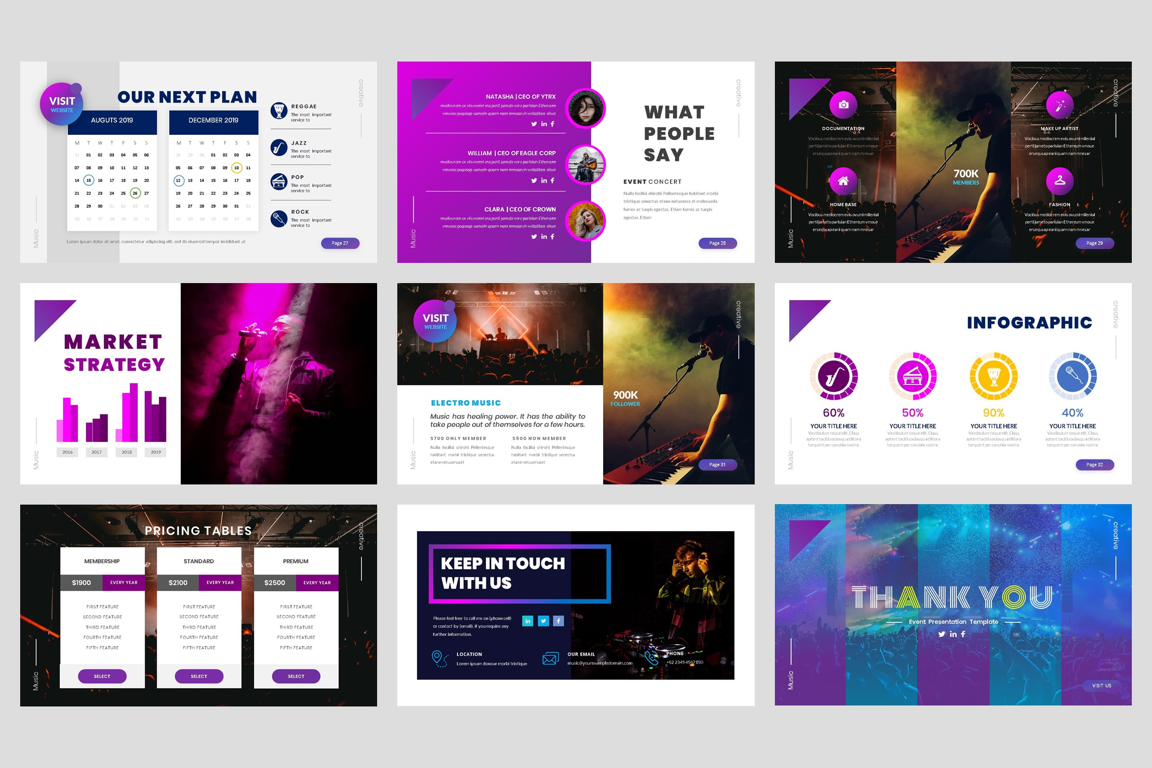 Music - Event Keynote Template example image 5