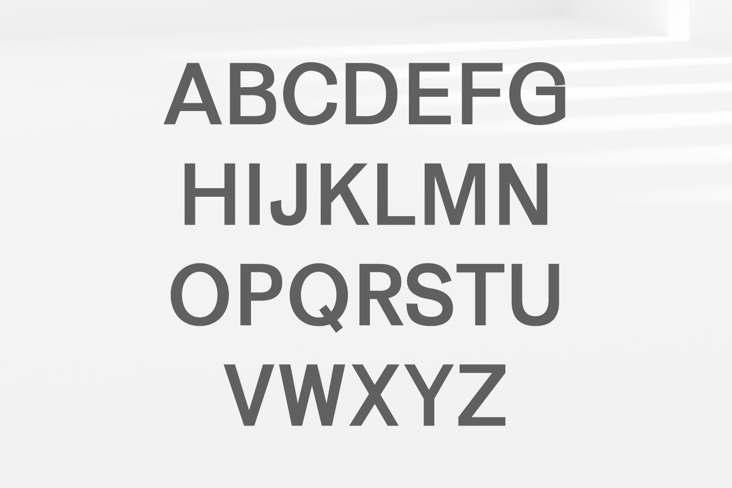 Gerard Sans Serif Font Family example image 2