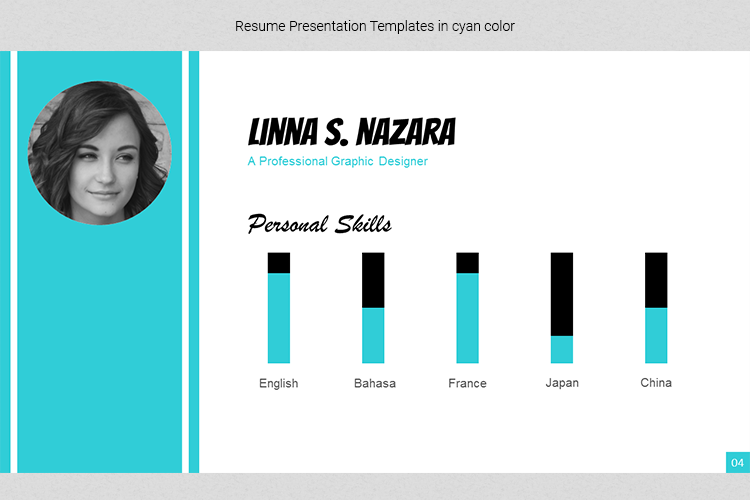 A4 Resume Templates Word example image 14
