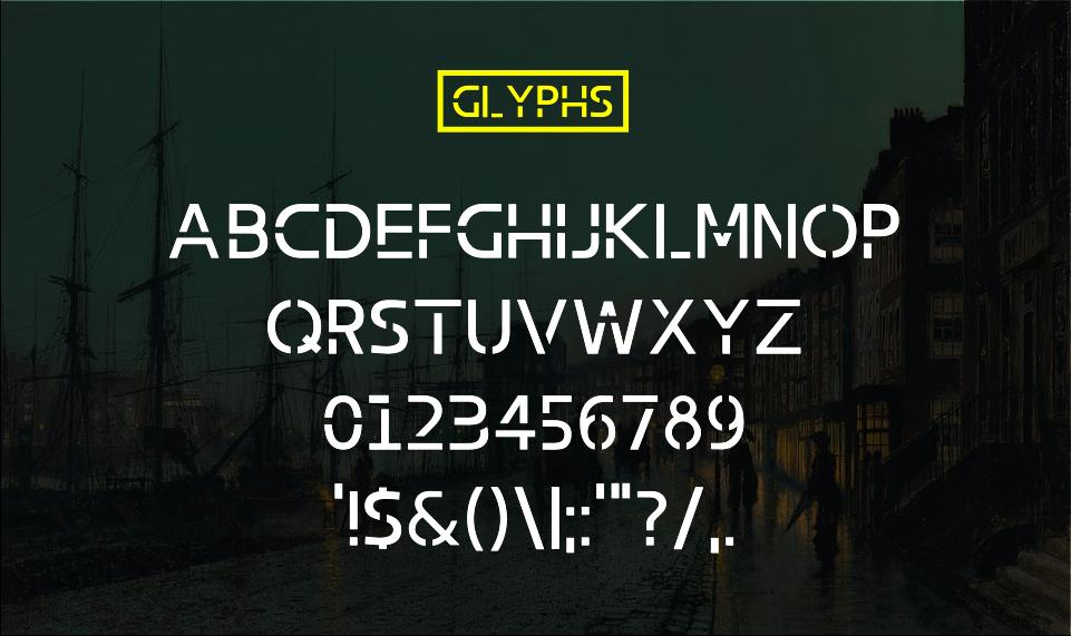Abang Typeface Font example image 3