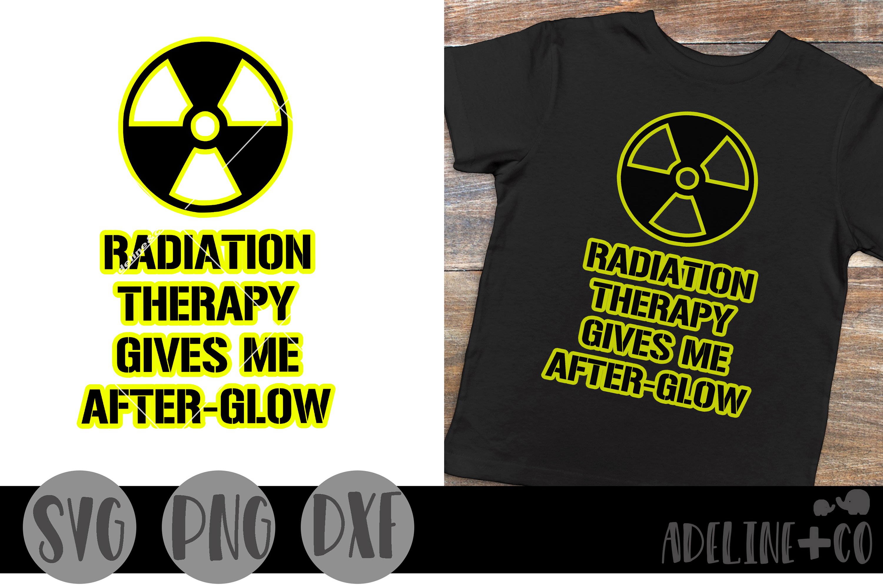 Radiation therapy gives me afterglow example image 1