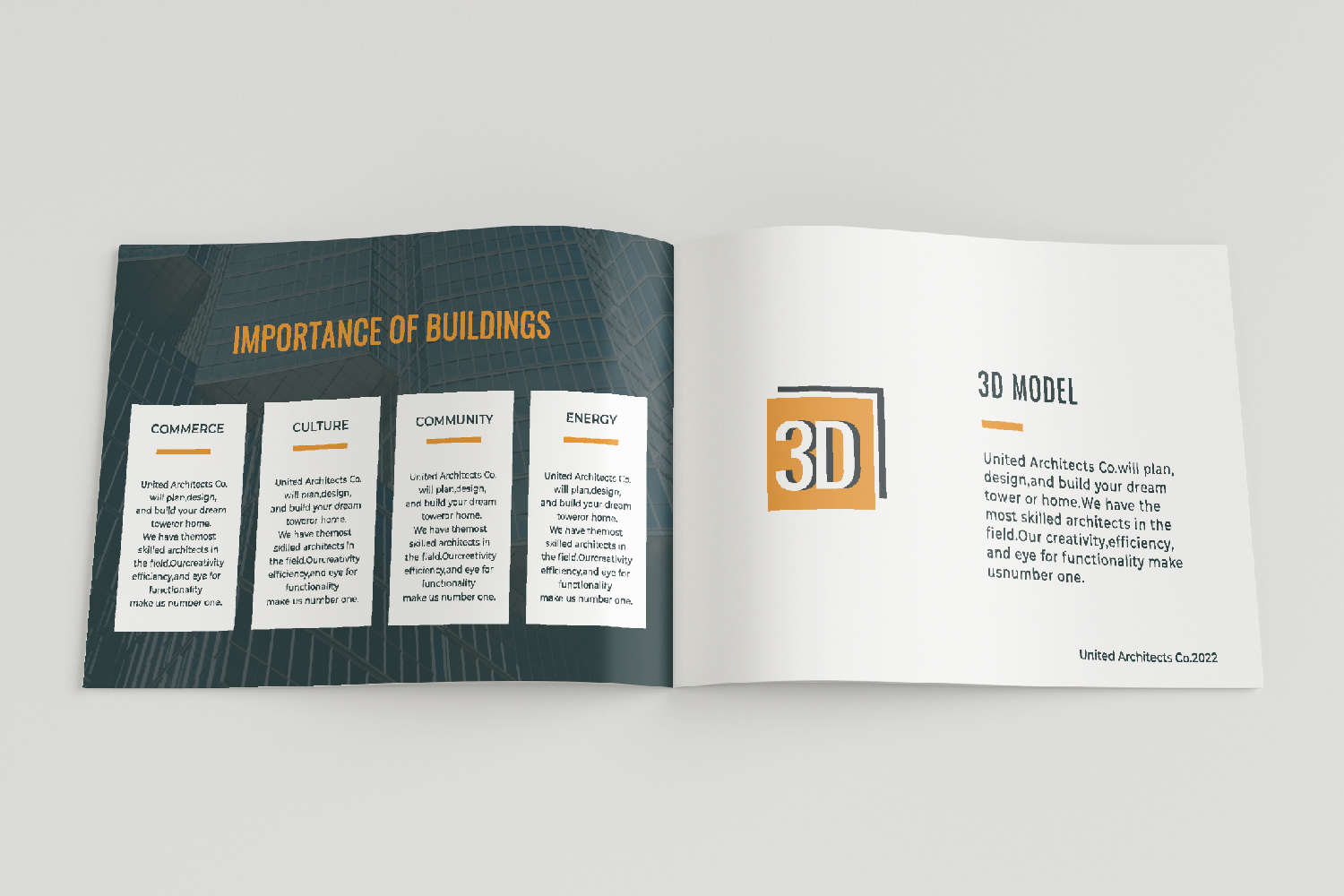 Architecture Presentation - A5-26 PSD Templates example image 10