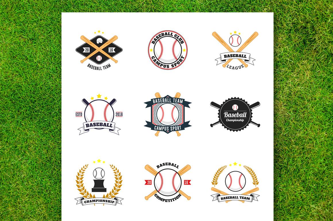 Baseball Badge Collection example image 2