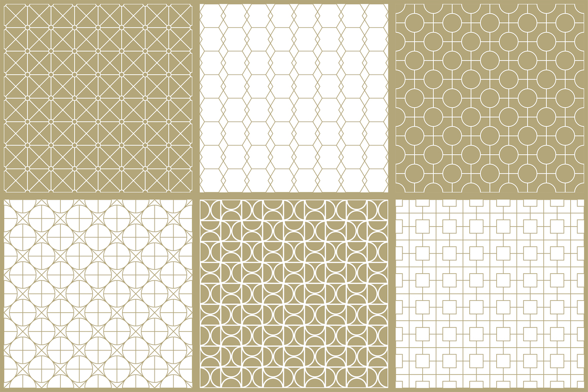 Vector ornamental seamless patterns example image 11
