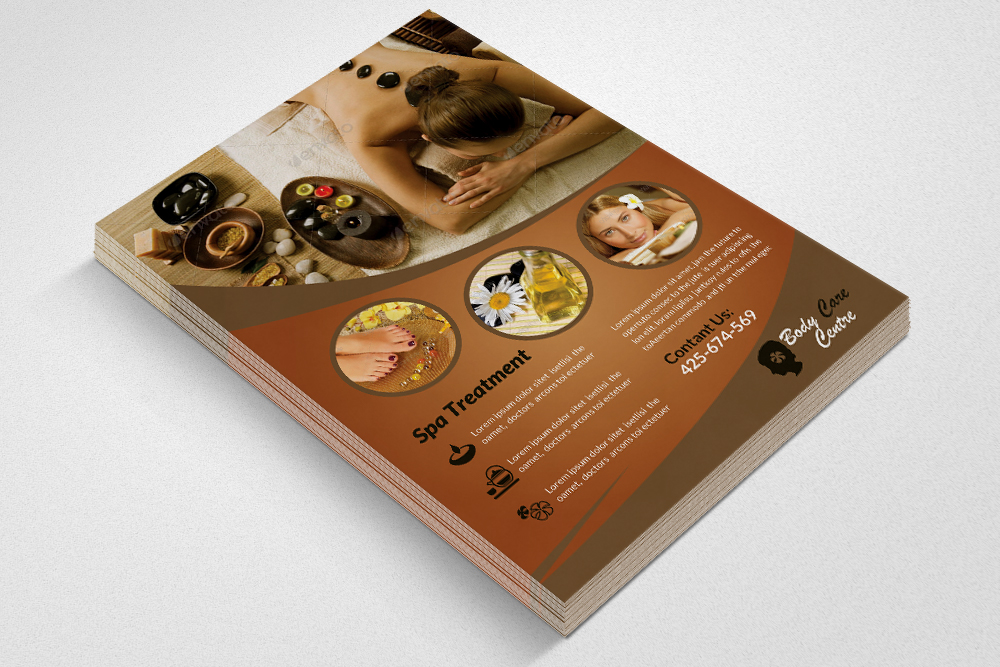 Spa & Skin Care Centre Flyer example image 2