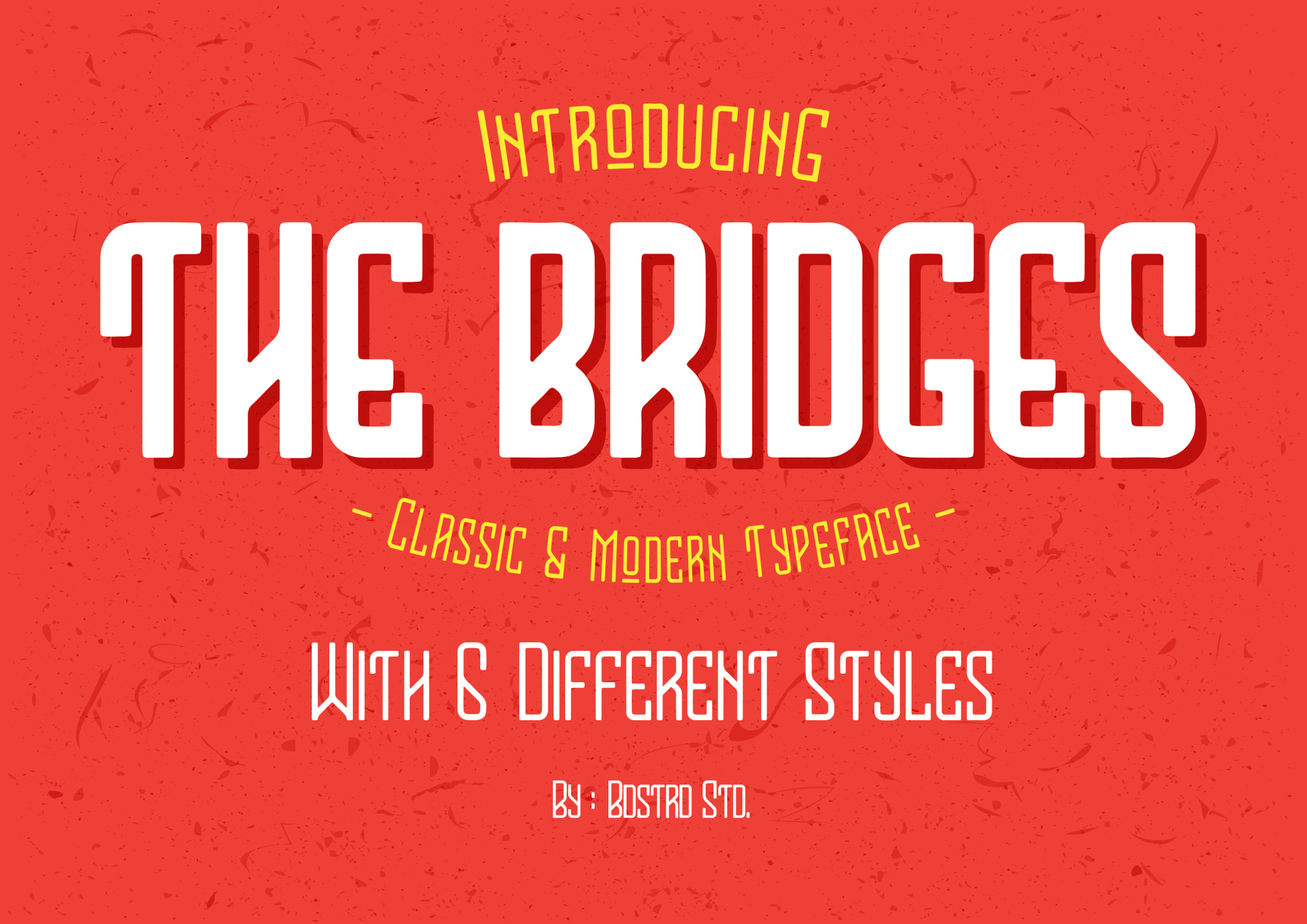 The Bridges Typeface example image 1