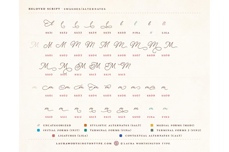 Beloved Script Regular example image 22