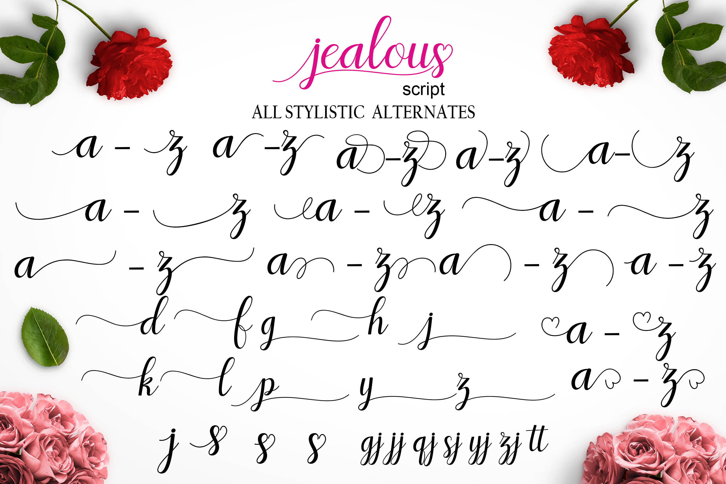 Jealous Script  example image 10