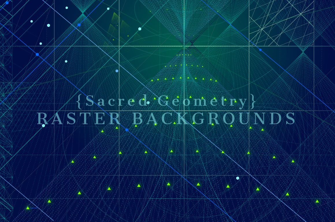 {Sacred Geometry} Raster Backgrounds example image 7