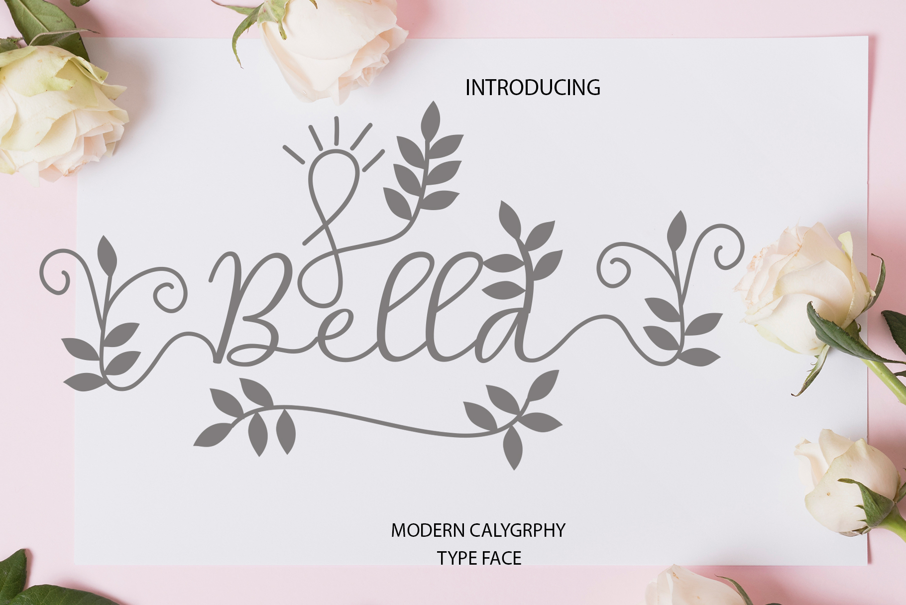 Bella Script example image 1