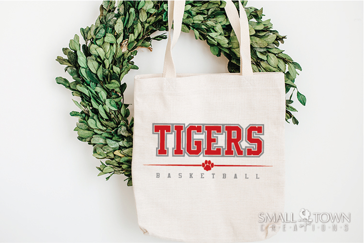 Tigers basketball, tiger mascot, team, PRINT, CUT, DESIGN example image 26