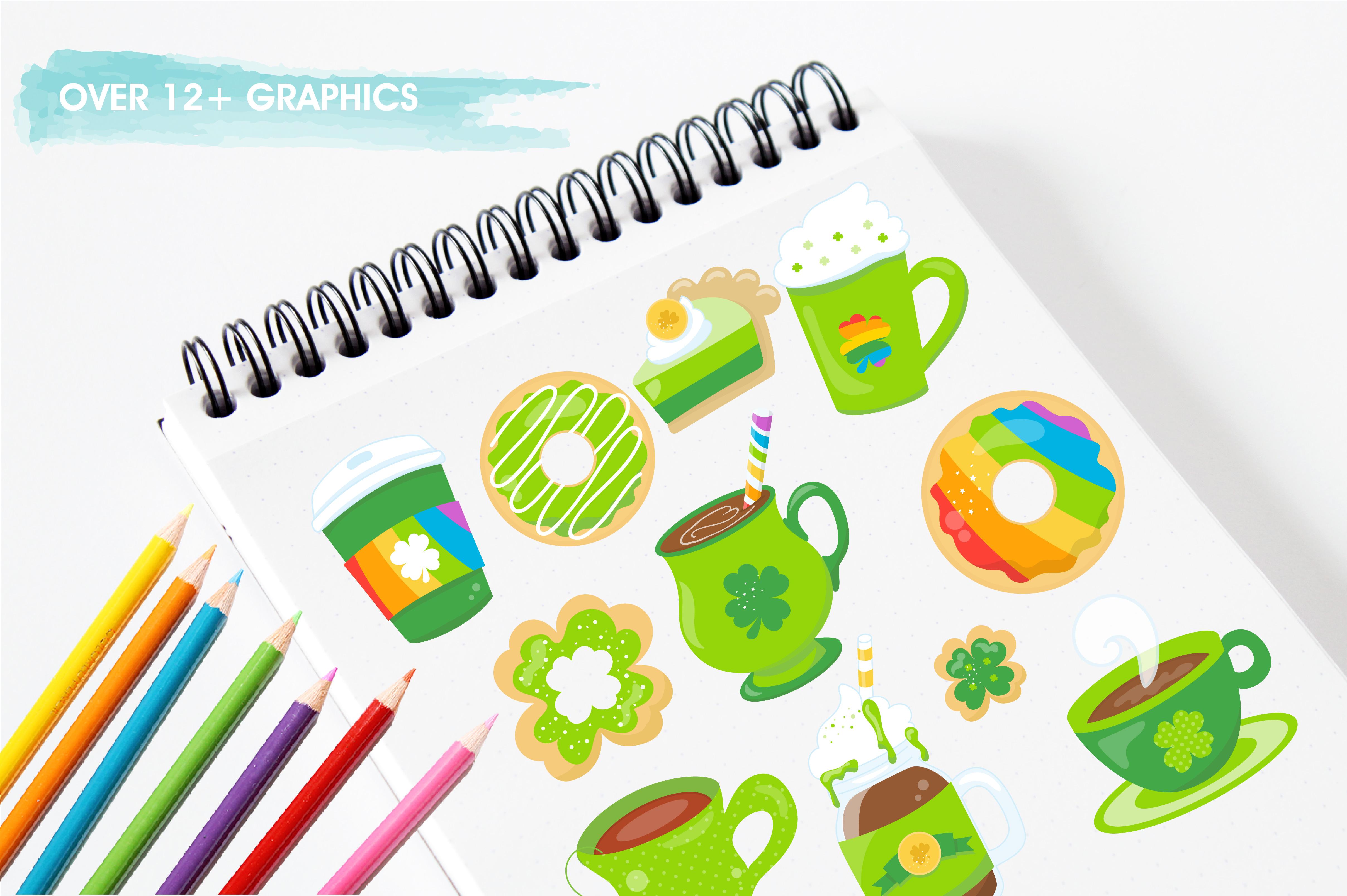 Irish coffee graphics and illustrations example image 3