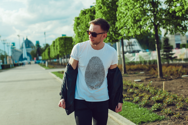 Men's T-Shirt Mock-Up Vol.2 2017 example image 8