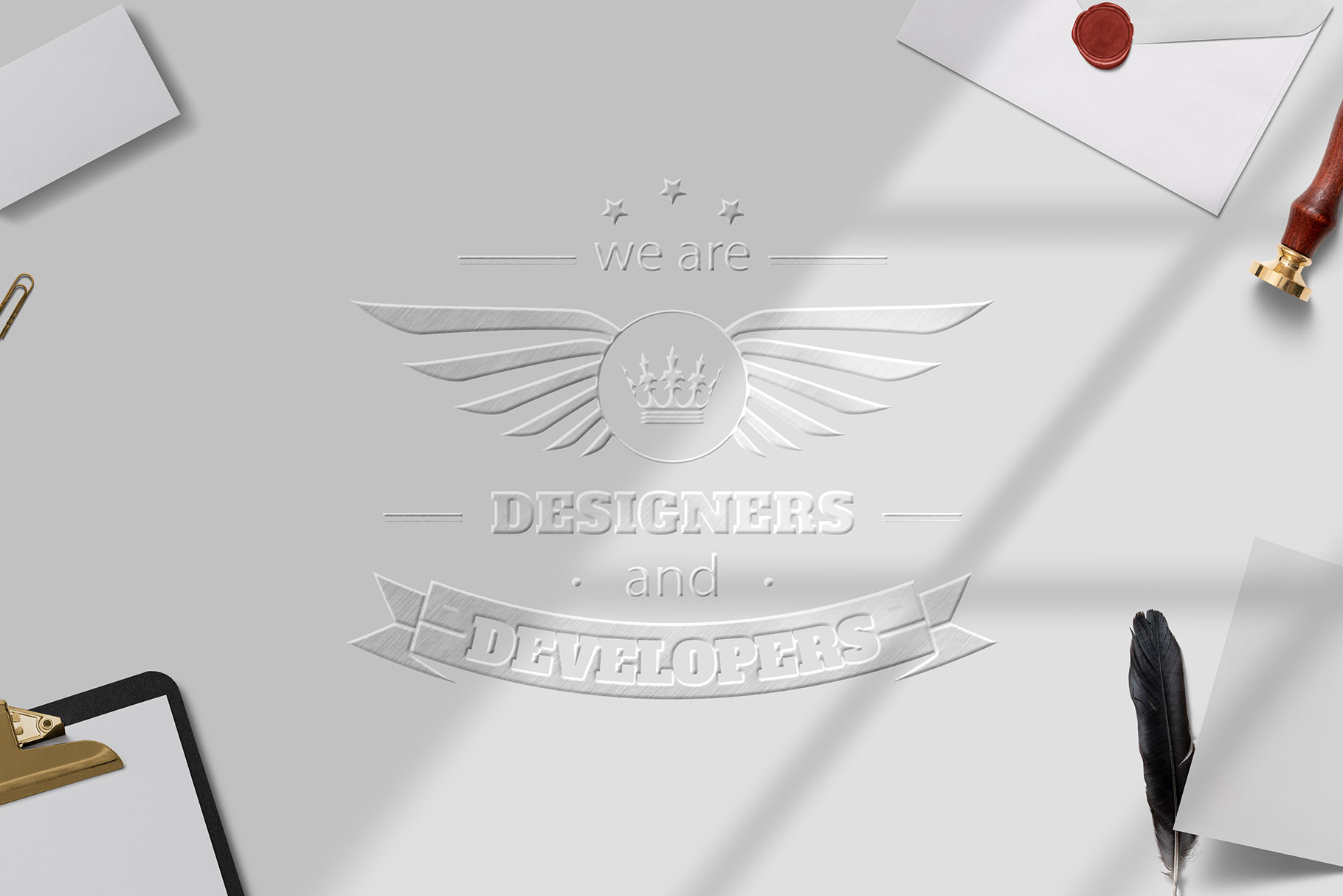 All-In-One Logo Mockup Creator example image 19