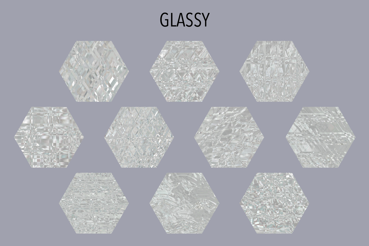 Glassy Textures example image 8