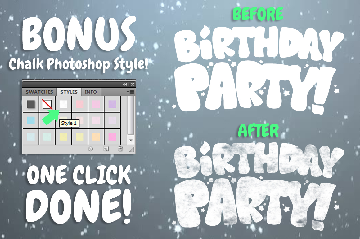 Chalk Party Flyer Bundle 30 off example image 2