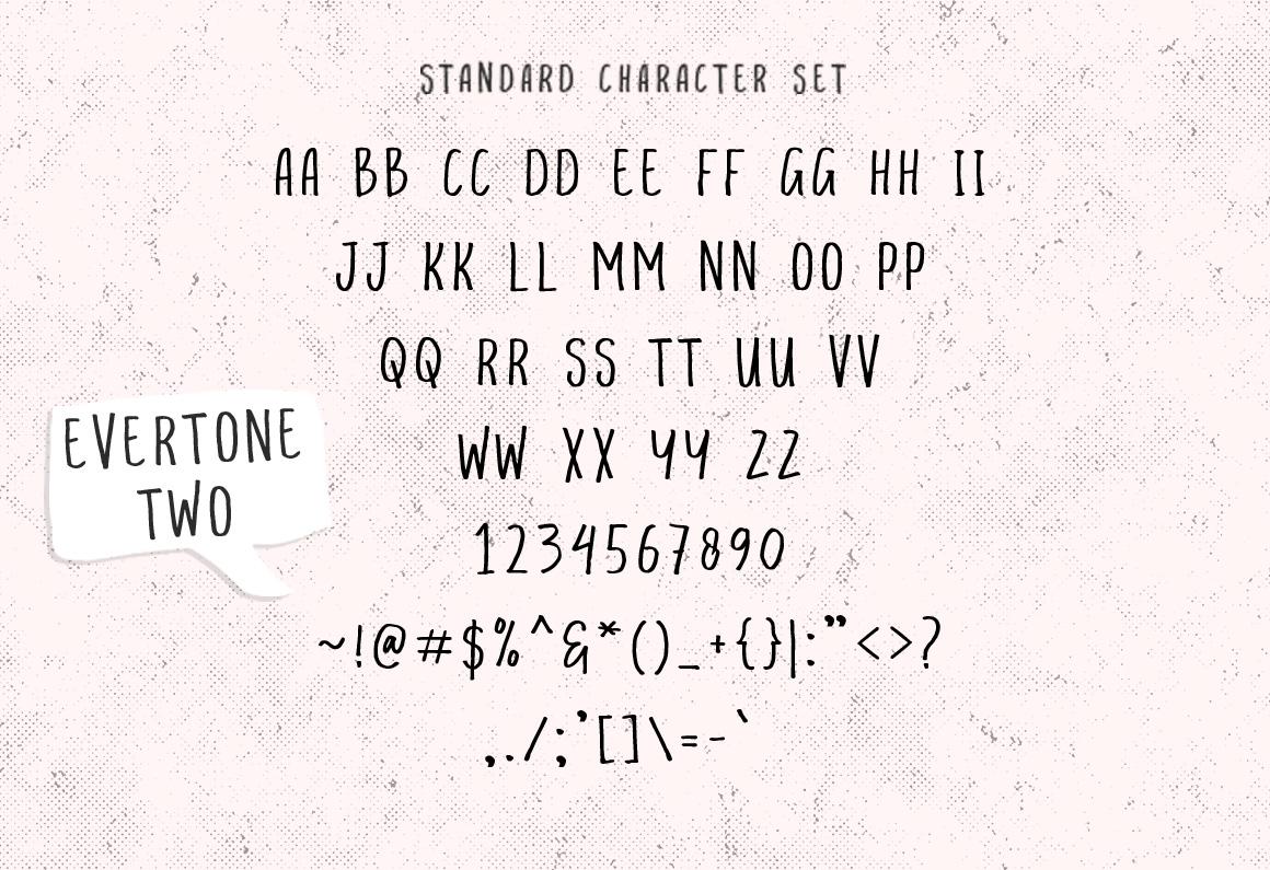 Evertone Font Trio example image 14