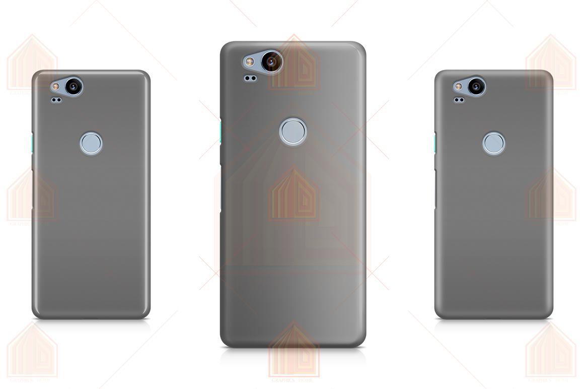 Google Pixel 2 3D Case Design Mockup Back View example image 5