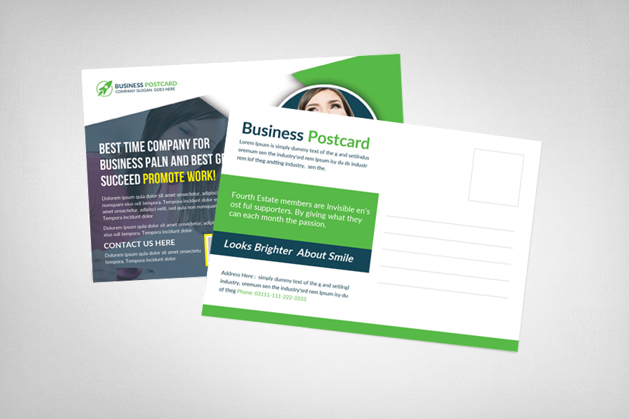 Multiuse Business Postcard Template example image 2