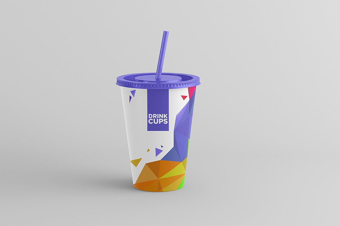 Drink Cups Mock-Up example image 8