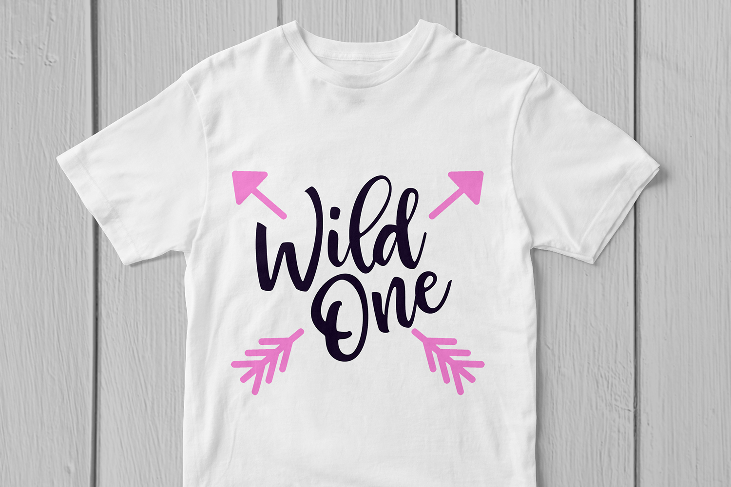 Wild One - Birthday SVG EPS DXF PNG Cutting Files example image 2