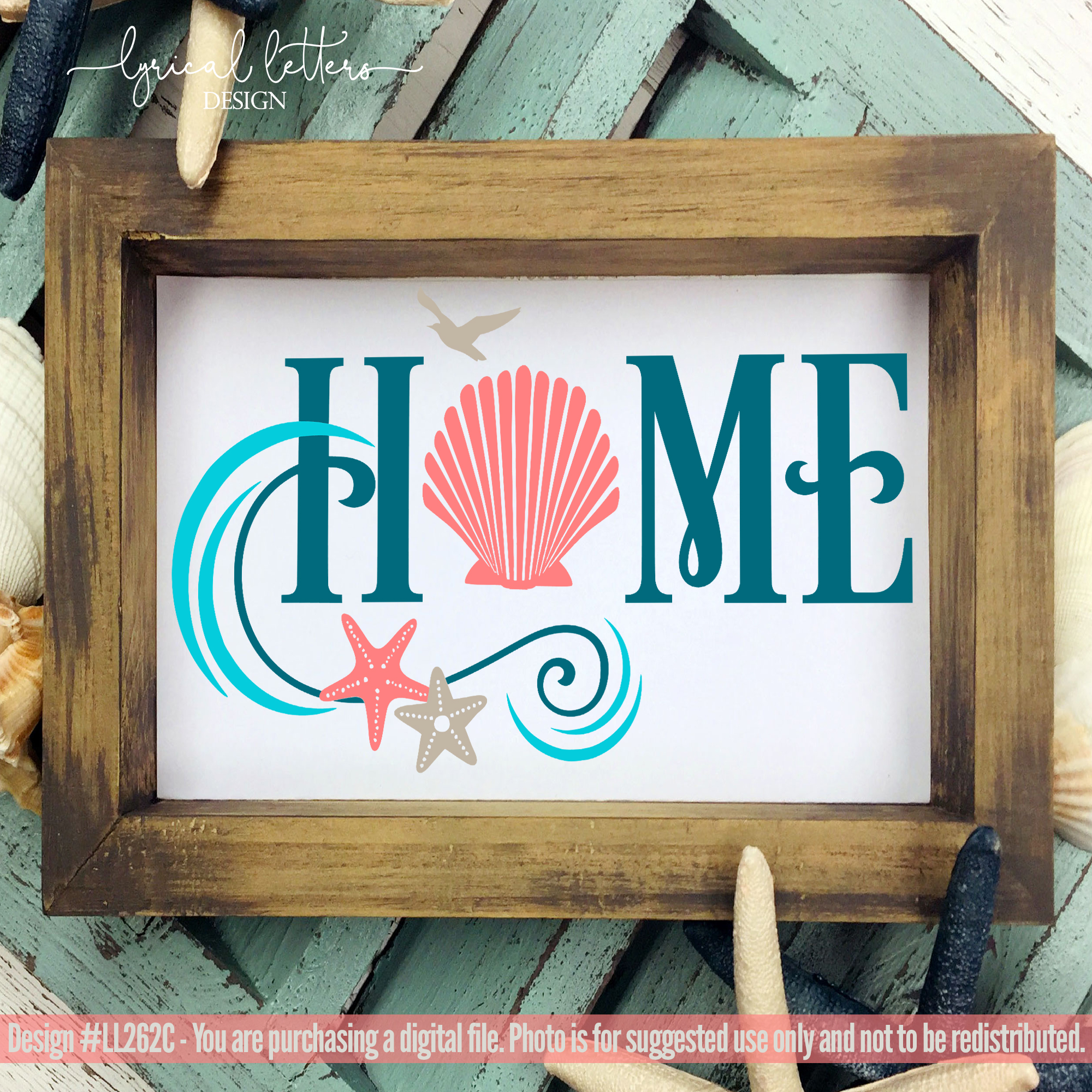 NEW! Beach House Home with Seashells example image 2